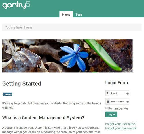gantry5 website