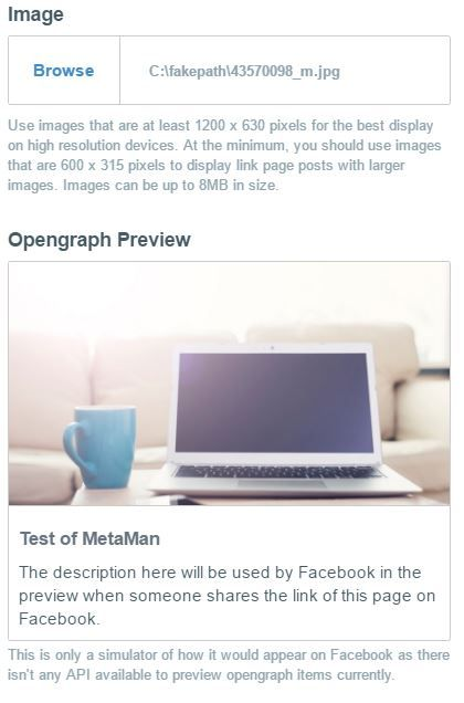 metaman preview facebook